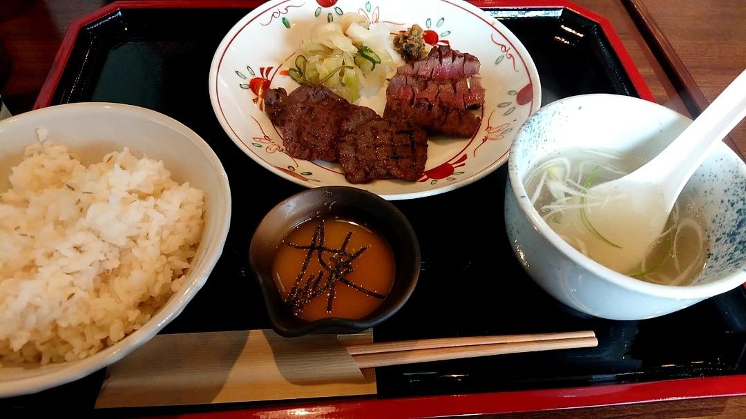 1人飯~タン定食~